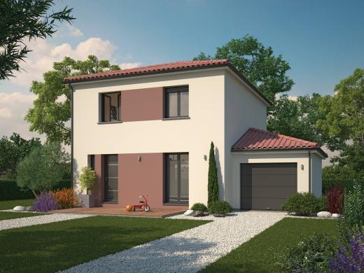 Maison+Terrain à vendre .(95 m²)(VOIRON) avec (Maisons familiales Échirolles)