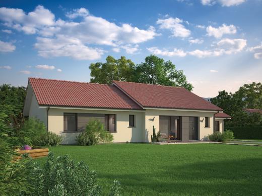 Maison+Terrain à vendre .(104 m²)(LA MOTTE D'AVEILLANS) avec (Maisons familiales Échirolles)
