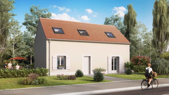 Maison+Terrain à vendre .(93 m²)(VERBERIE) avec (MAISON CASTOR)