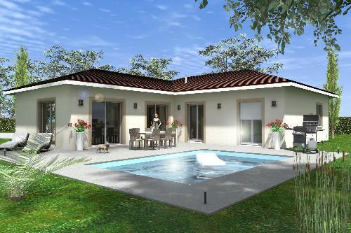 Maison à vendre .(91 m²)(CHOMERAC) avec (TRADICONCEPT)