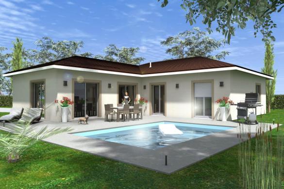 Maison à vendre .(101 m²)(PRIVAS) avec (TRADICONCEPT)
