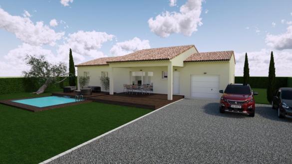 Maison à vendre .(91 m²)(ALISSAS) avec (TRADICONCEPT)
