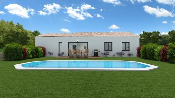 Maison à vendre .(91 m²)(CHOMERAC) avec (MAISONS VESTALE 26)