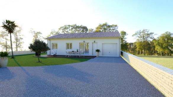 Maison à vendre .(85 m²)(SAINT MONTAN) avec (MAISONS VESTALE 26)