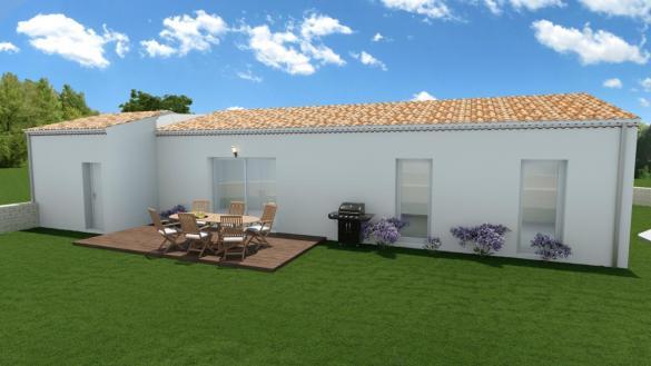 Maison à vendre .(91 m²)(ALLAN) avec (MAISONS VESTALE 26)