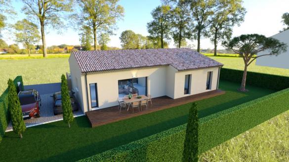 Maison à vendre .(86 m²)(TULETTE) avec (MAISONS VESTALE 26)