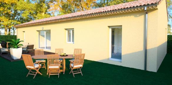 Maison à vendre .(90 m²)(LA COUCOURDE) avec (TRADICONFORT 26)