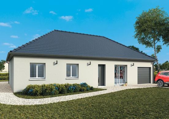 Maison+Terrain à vendre .(105 m²)(SAINT PLANCHERS) avec (MAISONS FRANCE CONFORT)