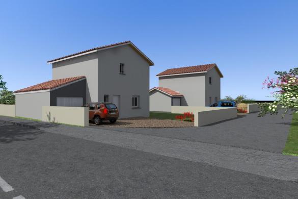 Maison à vendre .(110 m²)(GENAS) avec (CEVI 69)