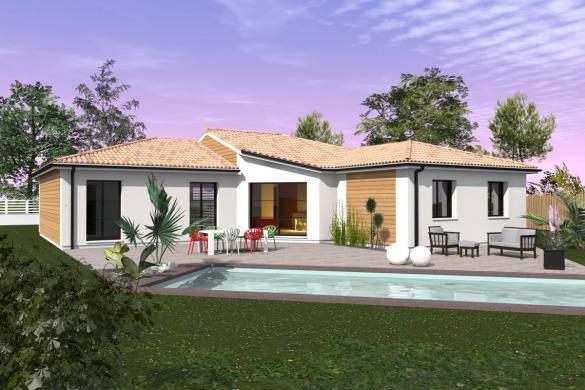 Maison+Terrain à vendre .(SAUCATS) avec (MAISONS BATI SUD)