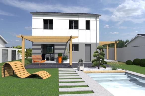 Maison+Terrain à vendre .(PESSAC) avec (MAISONS BATI SUD)