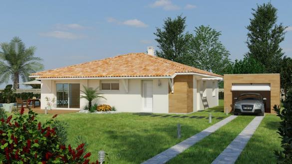 Maison+Terrain à vendre .(LANGON) avec (MAISONS BATI SUD)
