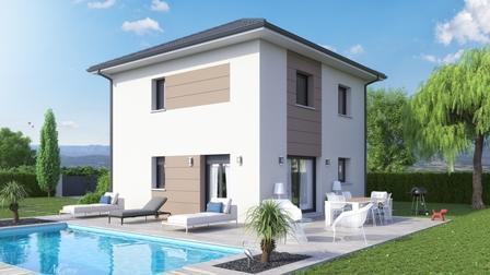 Maison à vendre .(77 m²)(ROGNAIX) avec (MCA ALBERTVILLE)