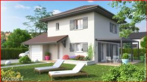 Maison à vendre .(89 m²)(TOURNON) avec (MCA ALBERTVILLE)