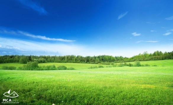 Terrain à vendre .(418 m²)(MONTFERRAT) avec (MCA MAISONS & CHALETS DES ALPES)