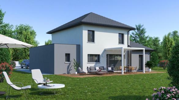 Maison+Terrain à vendre .(128 m²)(CHEMINOT) avec (Maison Familiale Metz)