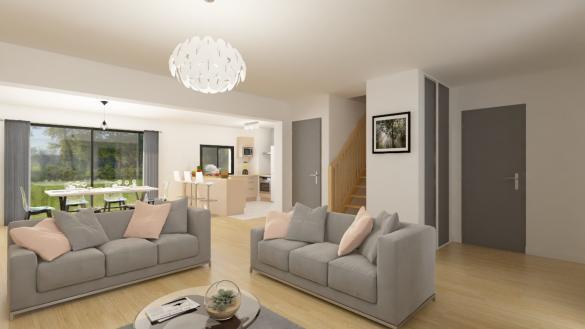 Maison+Terrain à vendre .(108 m²)(GLATIGNY) avec (Maison Familiale Metz)