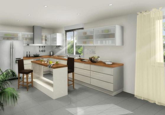 Maison+Terrain à vendre .(110 m²)(LES ETANGS) avec (Maison Familiale Metz)