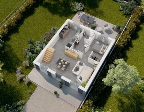 Maison à vendre .(81 m²)(CHAMPCUEIL) avec (MAISONS PIERRE STE GENEVIEVE DES BOIS)