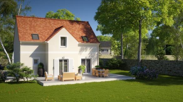 Maison à vendre .(96 m²)(BELLOY EN FRANCE) avec (MAISON PIERRE)