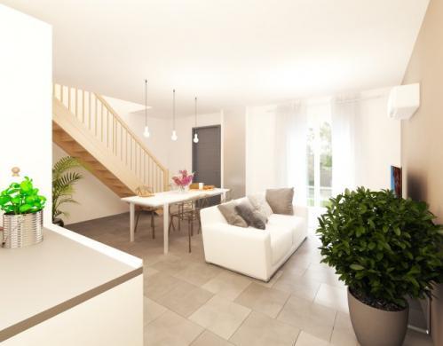Maison à vendre .(80 m²)(JOUY LE MOUTIER) avec (MAISONS PIERRE PUISEUX PONTOISE)