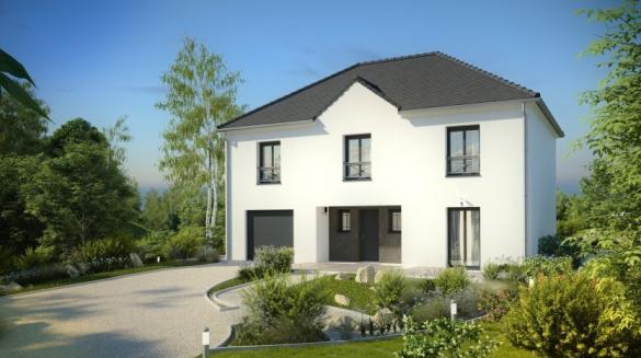 Maison à vendre .(151 m²)(MONTMORENCY) avec (MAISONS PIERRE PUISEUX PONTOISE)