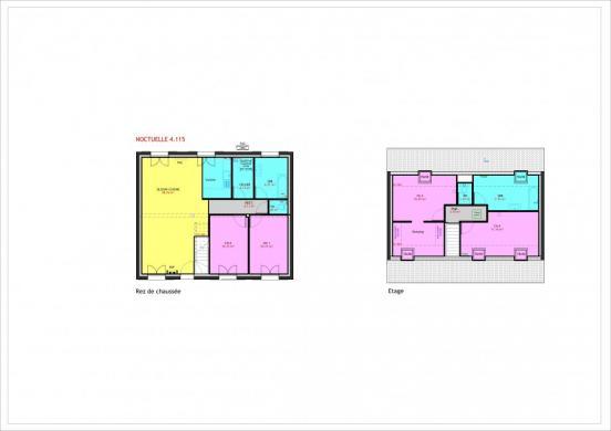 Maison à vendre .(115 m²)(PUISEUX LE HAUBERGER) avec (MAISONS PIERRE PUISEUX PONTOISE)