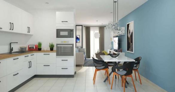 Maison à vendre .(84 m²)(LIGNE) avec (MAISONS PIERRE)