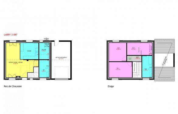 Maison à vendre .(87 m²)(GETIGNE) avec (MAISONS PIERRE)