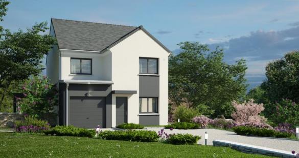 Maison à vendre .(107 m²)(PONTCHATEAU) avec (MAISONS PIERRE)