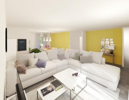 Maison à vendre .(99 m²)(PONT SAINT MARTIN) avec (MAISONS PIERRE)