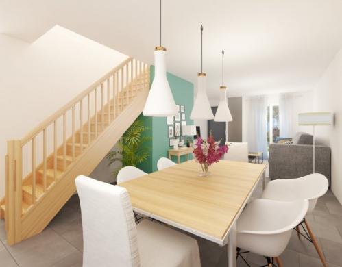 Maison à vendre .(87 m²)(SAINTE GENEVIEVE DES BOIS) avec (MAISONS PIERRE VILLE DU BOIS)