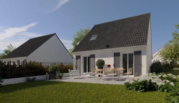 Maison à vendre .(81 m²)(FONTAINEBLEAU) avec (MAISONS PIERRE VILLENEUVE ST GEORGES)