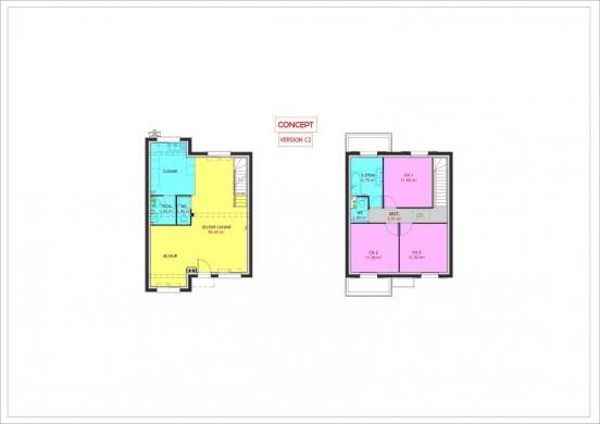 Maison à vendre .(104 m²)(LA FERTE SOUS JOUARRE) avec (MAISONS PIERRE AULNAY 1)