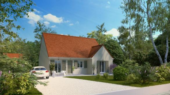 Maison à vendre .(86 m²)(REBRECHIEN) avec (MAISONS PIERRE ORLEANS)
