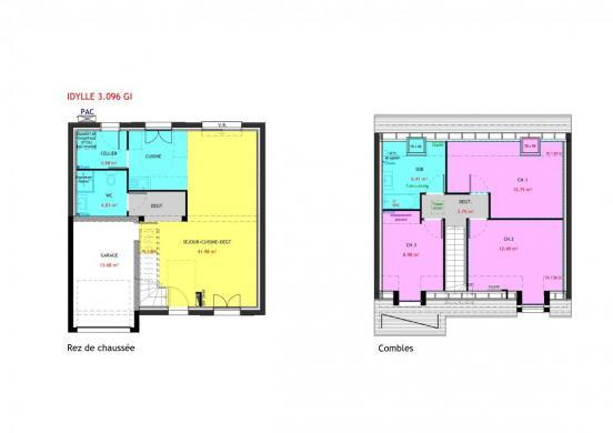 Maison à vendre .(96 m²)(SARAN) avec (MAISONS PIERRE ORLEANS)