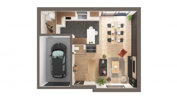 Maison+Terrain à vendre .(116 m²)(CORBIE) avec (Maison Castor Amiens)