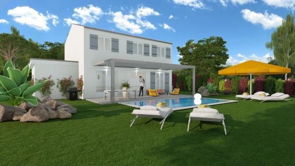Maison à vendre .(100 m²)(PELISSANNE) avec (ALPHA VILLAS)