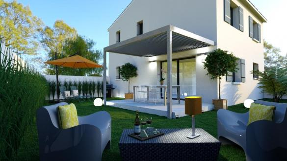 Maison à vendre .(90 m²)(ROBION) avec (ALPHA VILLAS)
