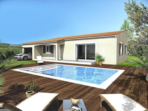 Maison à vendre .(80 m²)(ROCHEGUDE) avec (ALPHA VILLAS)