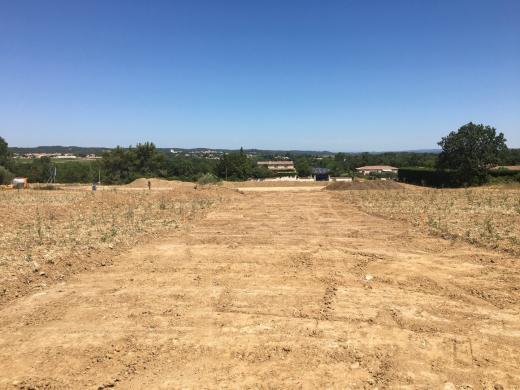 Terrain à vendre .(387 m²)(GAJAN) avec (OPUS DEVELOPPEMENT)