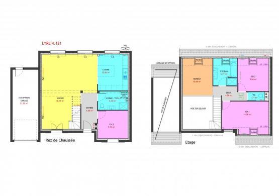 Maison à vendre .(121 m²)(PLACHY BUYON) avec (MAISONS PIERRE AMIENS)