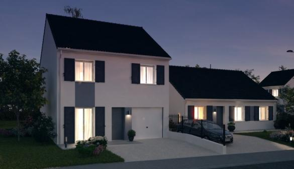 Maison à vendre .(87 m²)(AUBERGENVILLE) avec (MAISONS PIERRE COIGNIERES 2)