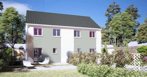 Maison à vendre .(156 m²)(TREMBLAY LES VILLAGES) avec (MAISONS PIERRE CHARTRES)