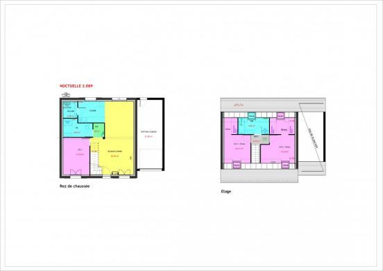 Maison à vendre .(89 m²)(ORMOY) avec (MAISONS PIERRE CHARTRES)