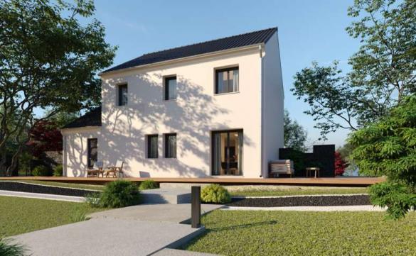Maison à vendre .(110 m²)(DAMMARIE) avec (MAISONS PIERRE CHARTRES)