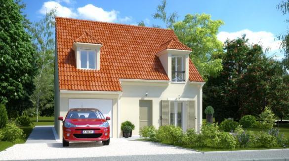 Maison à vendre .(96 m²)(HOUDAN) avec (MAISONS PIERRE CHARTRES)