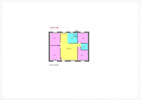 Maison à vendre .(88 m²)(AUNEAU) avec (MAISONS PIERRE CHARTRES)