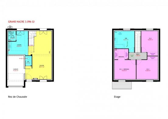 Maison à vendre .(96 m²)(SAINT PERE EN RETZ) avec (MAISONS PIERRE NANTES SUD)