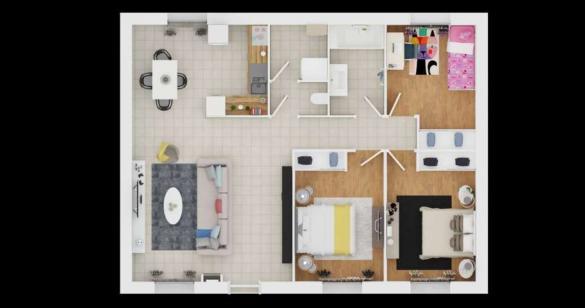 Maison à vendre .(84 m²)(FRESNAY EN RETZ) avec (MAISONS PIERRE NANTES SUD)